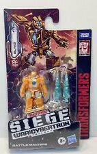 Transformers RUNG War for Cybertron BATTLE MASTERS WFC Siege NEW