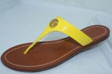 46bfec1abd276 Tory Burch Women s Patent Leather Sandals and Flip Flops