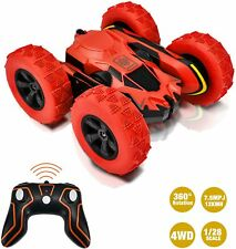 Remote Control Stunt Car RC Cars 360°Flips Double Sided  High Speed Race Car Toy