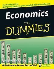Economics for Dummies by Sean Flynn (2005, Paperback)