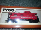 Vintage 1970 TYCO Red CHATTANOOGA 607 Caboose Car ELECTRIC TRAIN HO Scale NEW