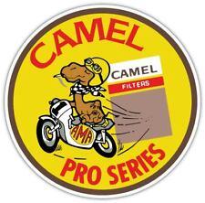 Camel Pro Series Vintage Retro Vinyl Sticker Decal Car Bamper Laptop Window Wall