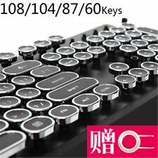 104 Keys Retro Steampunk Typewriter Keycaps Switch Key Caps ABS Cherry MX Keypad