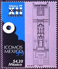 Mexico 1999 ICOMOS 12th Architecture International Council Monuments Sites MNH