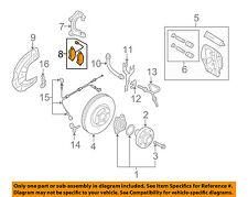 AUDI OEM 09-11 A6 Quattro Brake-Front Pads 4F0698151K