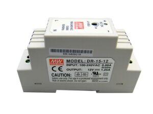 Mean Well DR-15-12 Schaltnetzteil, Hutschiene, 15 W, 12 V, 1,25 A