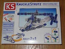 Knucklestrutz High Flyerz Building Construction Toy Set Plane Helecopter