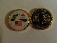 CHALLENGE COIN US ARMY FT HUACHUCA ARIZONA SKY WARRIOR ALPHA ISAF UNMANNED AIRCR