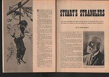 Granville Stuart's Montana Stranglers+Downs,McKenzie,McCray,Governor Crosby