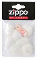 Cotton and felt for lighter Zippo