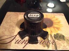 82 J10 / CHEROKEE CHIEF FSJ BLACK WHEEL CENTER CAP NICE