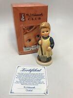 3 5/8 Inch Hummel Goebel HUM 727 GARDEN TREASURES Figurine BOX # 1222 Membership