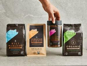 CafeDirect Roast & Ground Fairtrade coffee 6x227