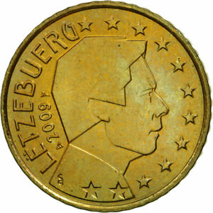 [#461396] Luxembourg, 50 Euro Cent, 2009, SPL, Laiton, KM:91