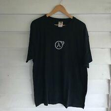 Vintage Half-Life 2 PC Video Game Promo Black T-Shirt Mens XL