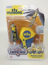 Minions Movie Exclusive Mini Flying Heroes Figure + Pull Launcher Age 4+ New
