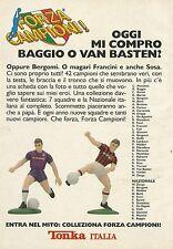 X2614 Tonka - Forza Campioni - Mi compro Baggio - Pubblicità 1990 - Advertising