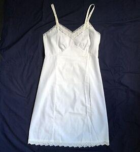 NEW Vintage Stones Wear White Cotton Full Slip Size 34 NOS w Original Packaging