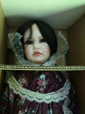Cottage Path Collection Dolls by Renee Sturgeon Raspberry Girl Doll NEW