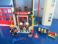 4819 Feuerwehr Hauptquartier Schlauchturm Zentrale Figuren Playmobil 786