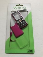 Sony Ericsson w610 Full Fascia Housing Cover Front Back Case Keypad Pink