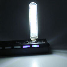 Mobile Power USB LED Lamp 8 Leds LED Lamp Lighting Computer Night Light White