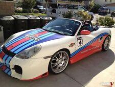 PORSCHE Boxster Martini - RALLY CAR GRAPHICS / DECALS