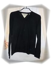 Beau Pull Noir Maille Fine Japan Rags Taille M