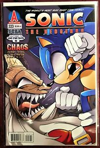 SONIC The HEDGEHOG Comic Book #223 May 2011 First Edition Bagged & Boarded MINT