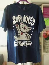 THE BIG BANG THEORY-Soft Kitty Cotton Tee-Size Large-NEW