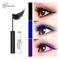 NICEFACE 7 Colors Mascara Waterproof Charming Longlasting Thick Eyes Makeup