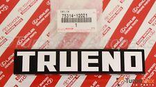 Toyota AE86 TRUENO 1983-1987 JDM Front Grille Emblem Genuine 75314-12021