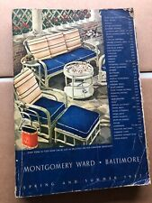 Vintage-Baltimore-Montgomery Ward Catalog-Spring-Summer-1937-Toys-Clothes-Tools