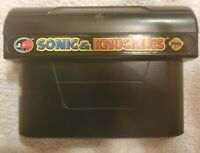 Sonic & Knuckles (Sega Genesis, 1994) Used Tested/Working Cart Only