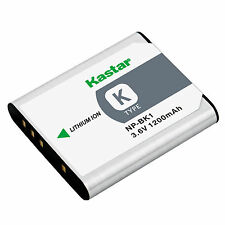 1x Kastar Battery for Sony NP-BK1 Type K CyberShot DSC-S780 S980 W190 MHS-CM5 PM