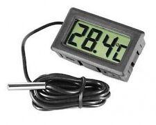 Digital Nevera Congelador Sonda Termómetro Temperatura Calibre Medidor Monitor de pantalla