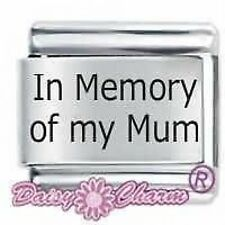 IN MEMORY OF MY MUM * DAISY CHARM Fits Nomination Classic Size Italian Charm