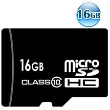 OEM CLASS 10 microSDHC 16GB 16G microSD micro SDHC TF Flash Data Memory Card