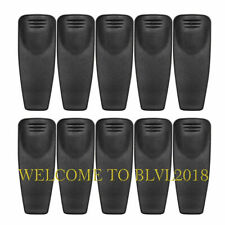 New Listing10pcs Belt Clip For Motorola Radios Ht750 Ht1250 Ht1250ls Ht1550xls Ht1550 Gp340