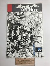 Batman The Dark Knight #8 Sketch Variant Finch Villains Dc Sealed Unread Nm/Nm+