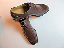 $175 New Cole Haan Eaton Moc Toe lace up w/ combination sole in Mahogony 8.