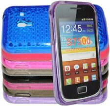 Cover Custodia Per Samsung Galaxy Ace Plus S7500 Silicone Gel + Pellicola