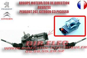 pompe de direction, moteur de direction assistée Peugeot 207,Citroën C3 picasso