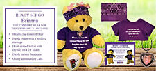 "Brianna the 15"" Comfort Bear for Those Who Lost A Loved One. In memory of my Son"