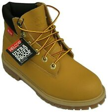 """Womens Boys Girls Timberland Wheat Helcor Waterproof 6"""" 6 Inch Boots Size UK 4"""