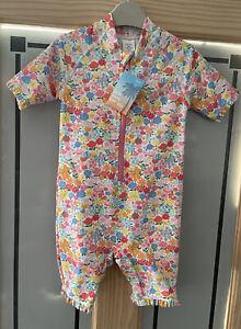NEXT. Floral Sun Safe / Swim Suit. Age 4yrs. BNWT.