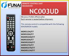 NEW REMOTE NC003UD MDR515H/F7 MDR533H/F7 MDR535H/F7 MDR537H/F7 H2160MW9 A