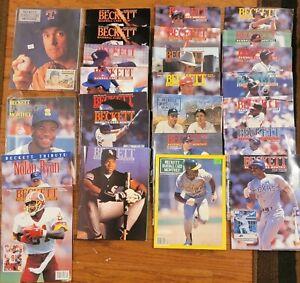 25x Beckett Magazines, ~1990