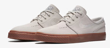 Nike Zoom Stefan Janoski Mens Suede Light Bone Beige Shoes Brand New Size UK 9