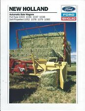 Farm Tractor Brochure - Ford New Holland Versatile Buyer's Guide c1990 (F7045)